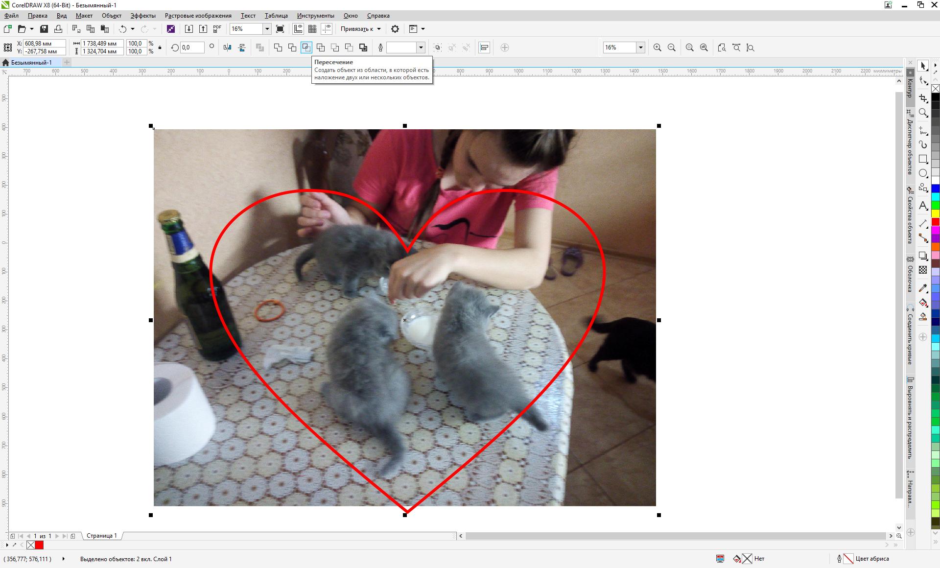 что как вырезать фотографию по контуру электронная